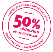 Réduction de 50%